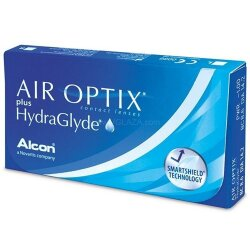 Air Optix plus HydraGlyde (3/6 шт.)
