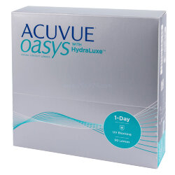 ACUVUE OASYS 1-Day with HydraLuxe™ (90 шт.)